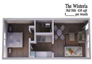 1B1B Wisteria